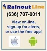 Rainout Line Park Information Hotline