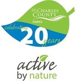 Parks 20th Anniversary Logo and Active By Nature Slogan