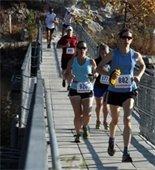 Runners at Klondike Park