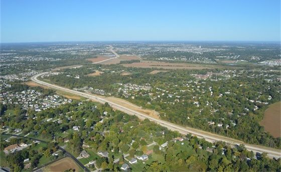 St. Charles County Aerial View