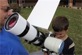 Watch the Transit of Mercury in the daytime sky at Broemmelsiek park on Monday, May 9.