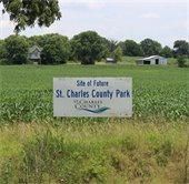 St. Charles County Park in development in the Weldon Spring area.
