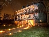 Take a Christmas Candlelight Tour Dec. 2, 3, 9, and 10 at the Historic Daniel Boone Home at Lindenwood Park.