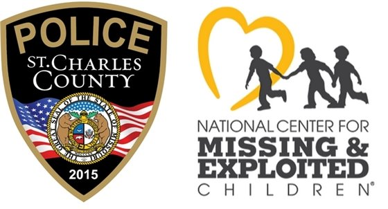 County Police Patch and NCMEC Logo