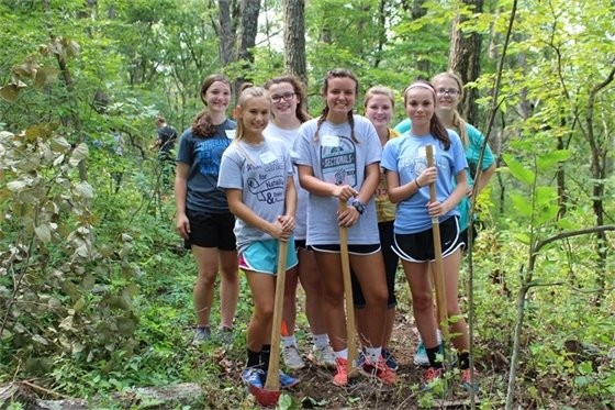 Make a mark on a St. Charles County Park - volunteer at upcoming Trail Work Days!