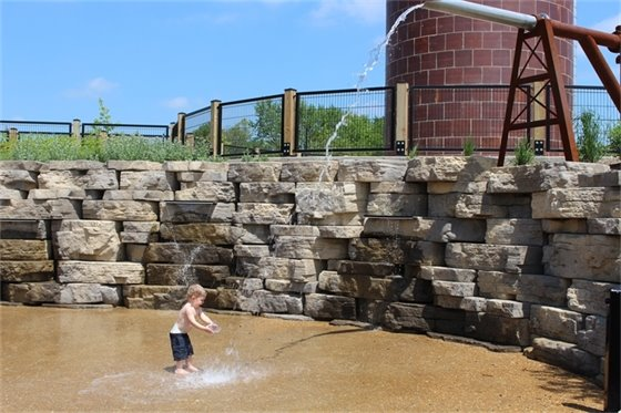 Enjoy water summer fun in St.                                    Charles County Parks.