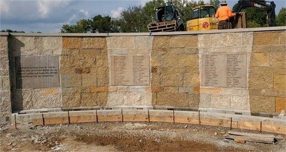 Veterans Memorial at Veterans Tribute Park