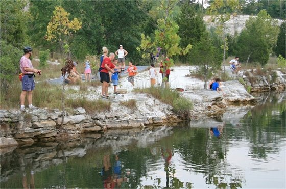 Harvestable and catch-and-release fishing is available in St. Charles County Parks.