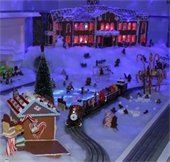 Holiday Toy Train Display is open Dec. 1 through Jan. 31!
