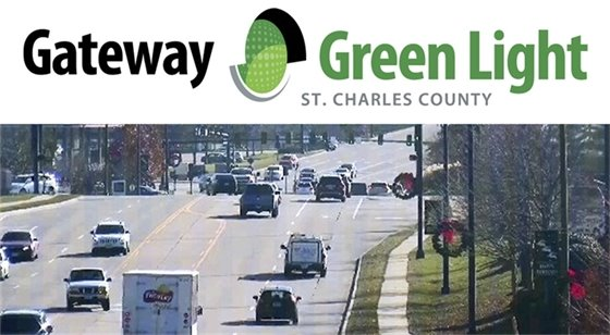 Gateway Green Light Camera View of Wentzville Parkway