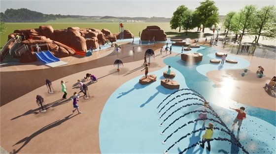 The St. Charles County Youth Activity Park is renamed to Kinetic Park; major transformation and events planned.