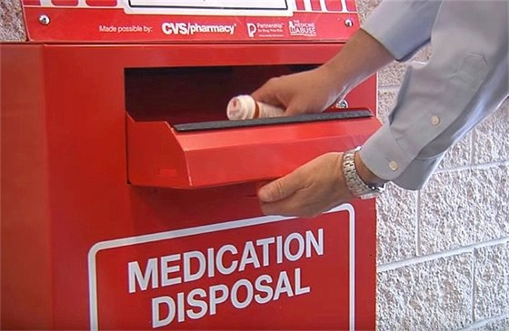 Prescription Drug Disposal at the County Police Department