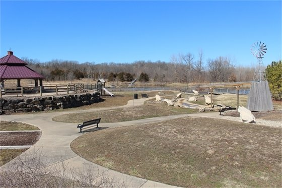 A new signature playground will soon be developed at Indian Camp Creek Park.