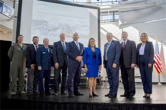 Boeing St. Charles Milestones Celebration Speakers
