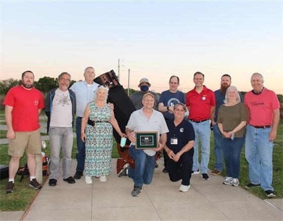 The Astronomical Society of Eastern Missouri for winning the 2021 Missouri Park and Recreation Association (MPRA) Organization Citation Award.