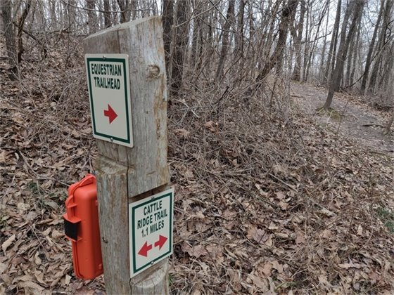 Trail Assist boxes have been installed in St. Charles County Parks.