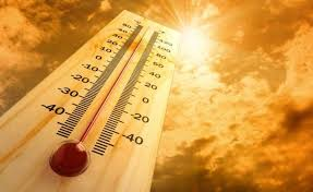 thermometer to sun