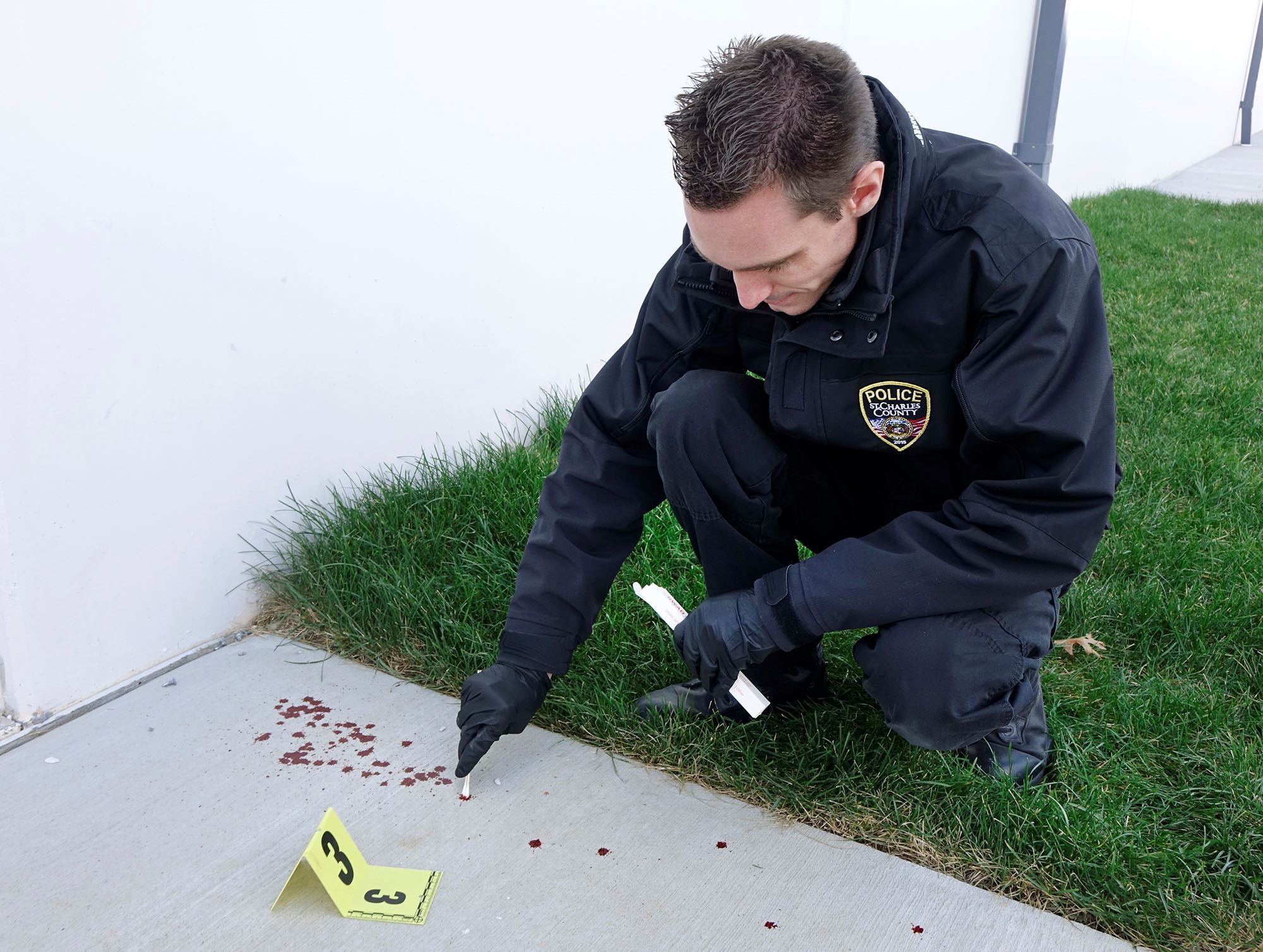 CSI Blood Evidence Marker