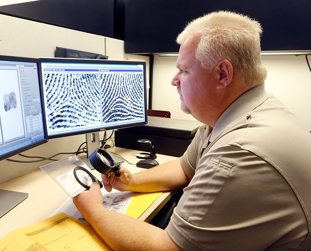 CSI Analyzing Fingerprints