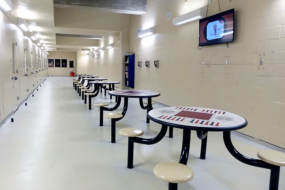 Corrections_Facility-Housing Unit Dayroom