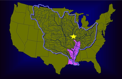 The Mississippi River Basin - U.S. Army Corps of Engineers Map