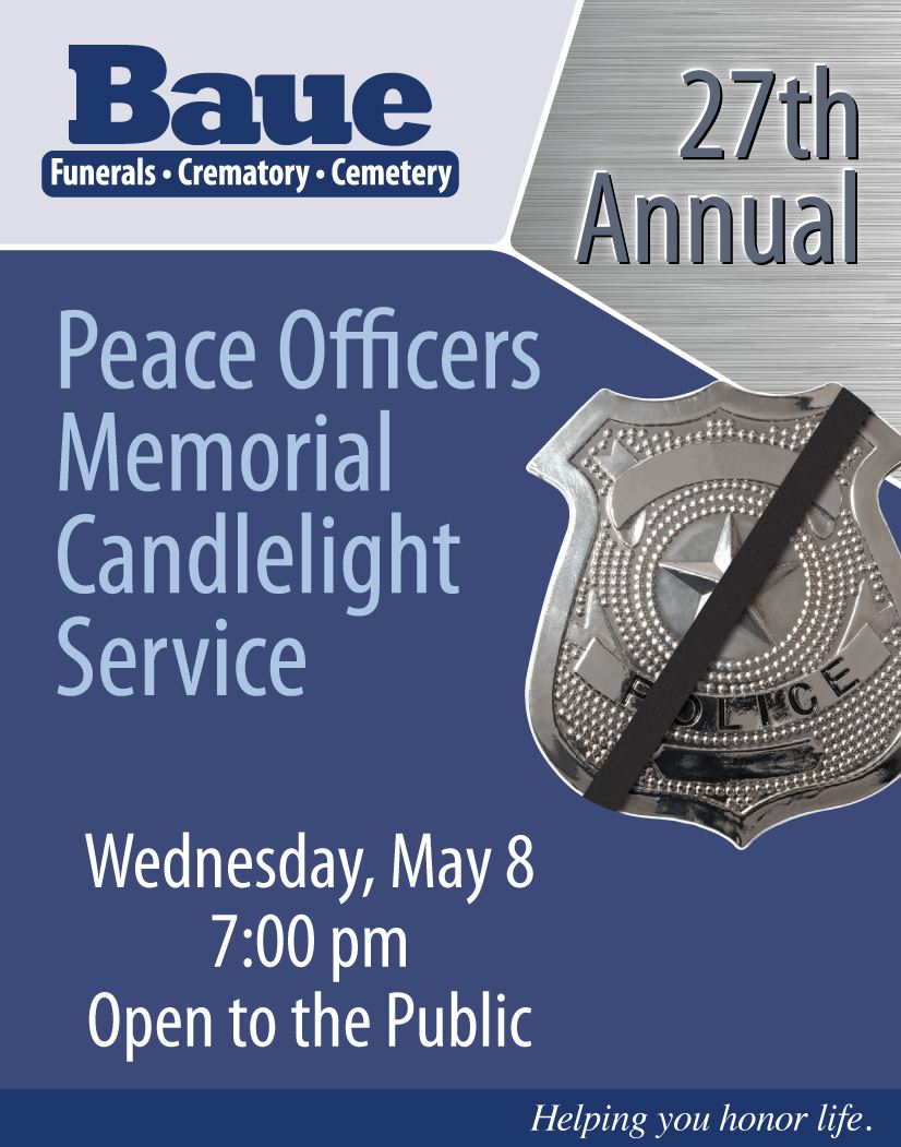 Peace Officers Memorial Candlelight Service