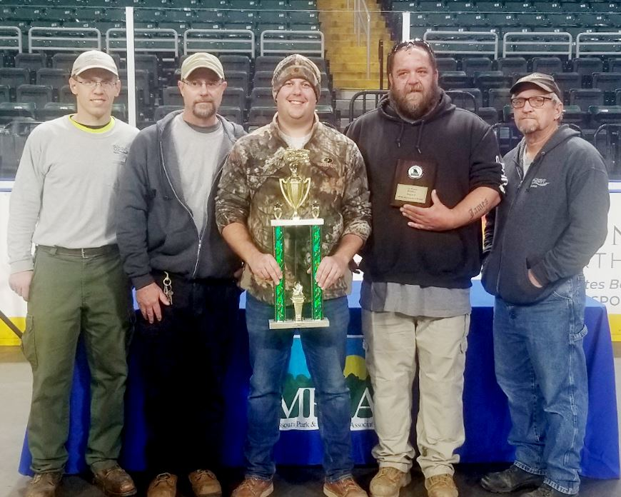 2019 Parks Maintenance Rodeo Winners