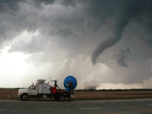 NOAA's National Severe Storms Laboratory (NSSL) Collection, May 24, 2004, Credit VORTEX II