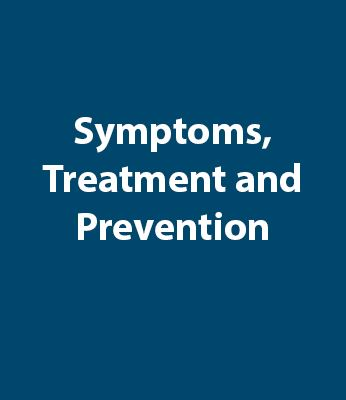 Symptoms Treatment Prevention Graphic