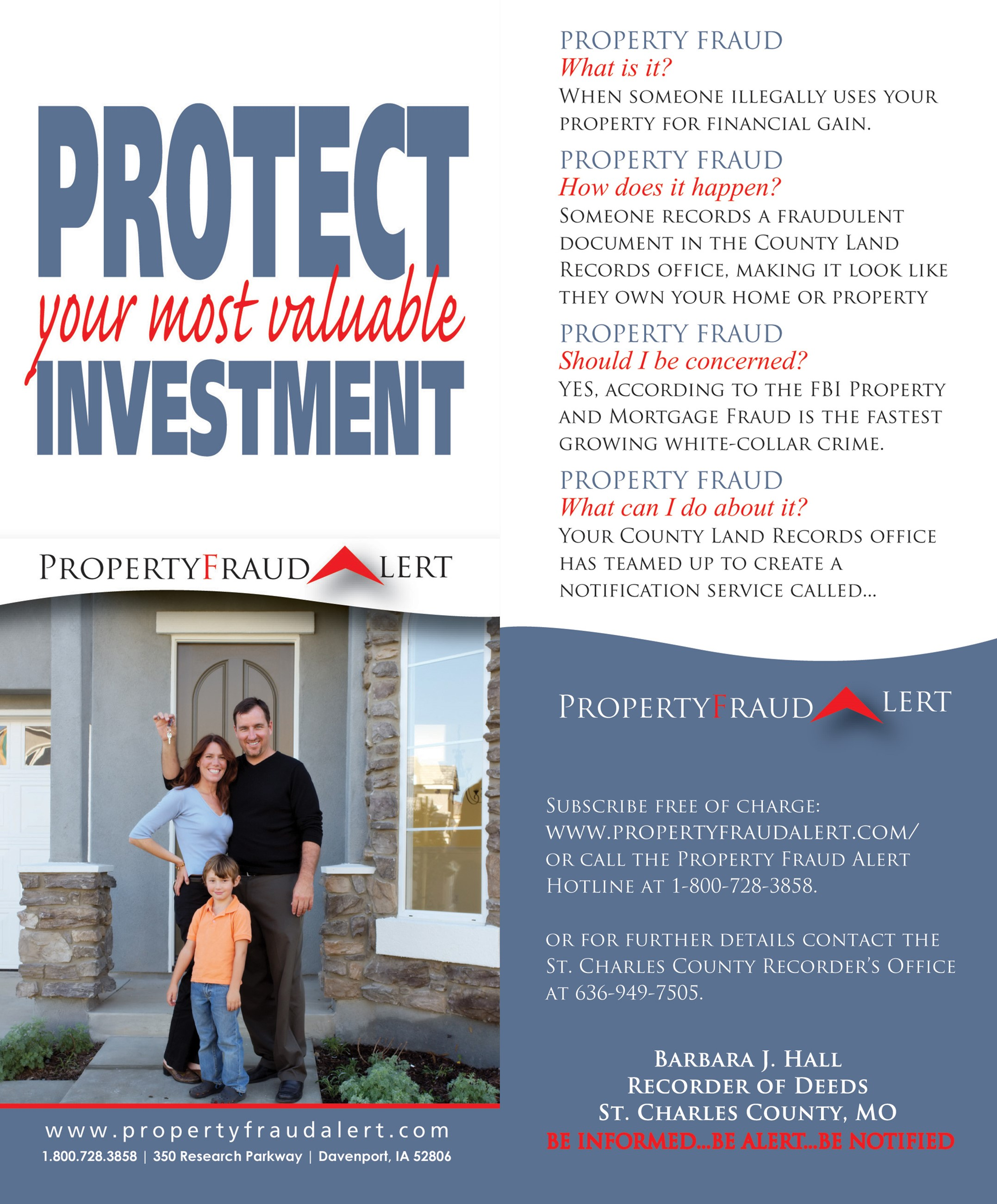 Protect Your Most Valuable Investment2015