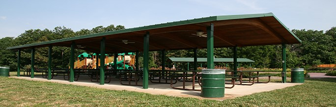 Small Picnic Shelters : Picnic shelters st charles county mo official website