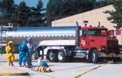 Hazardous Material response exercise