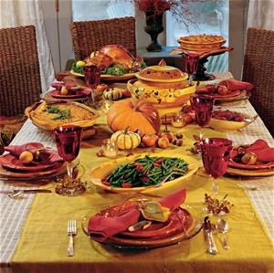 Click this photo to watch a video about Thanksgiving food safety