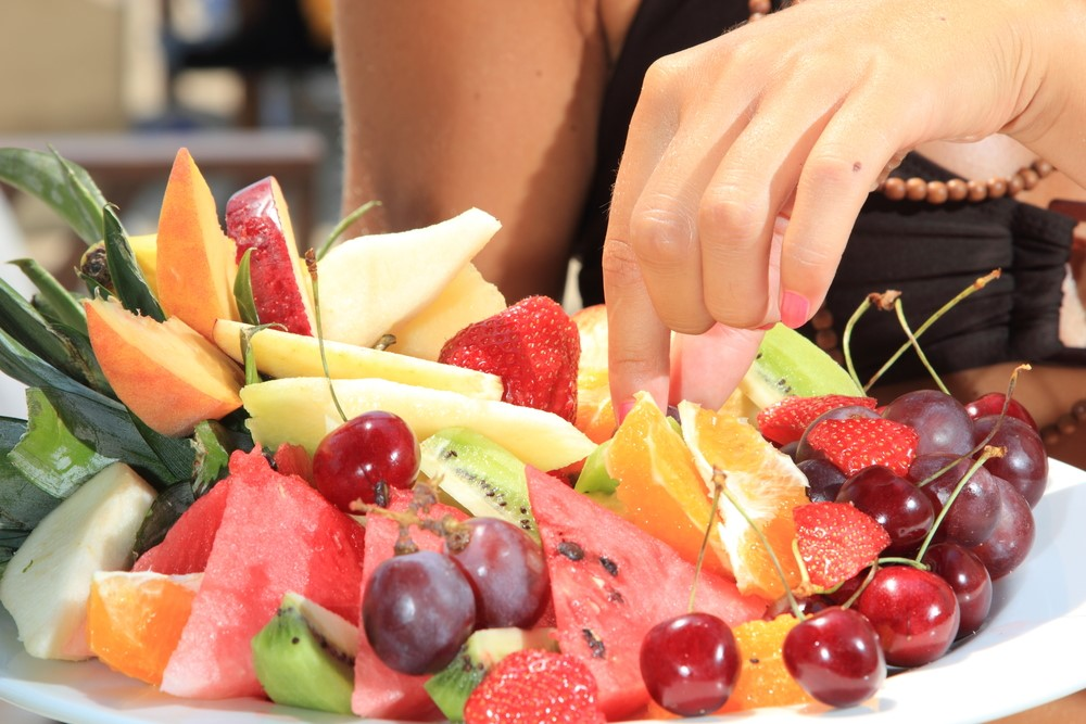Photo of a fruit tray