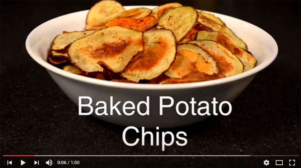 Baked Potato Chip video clip
