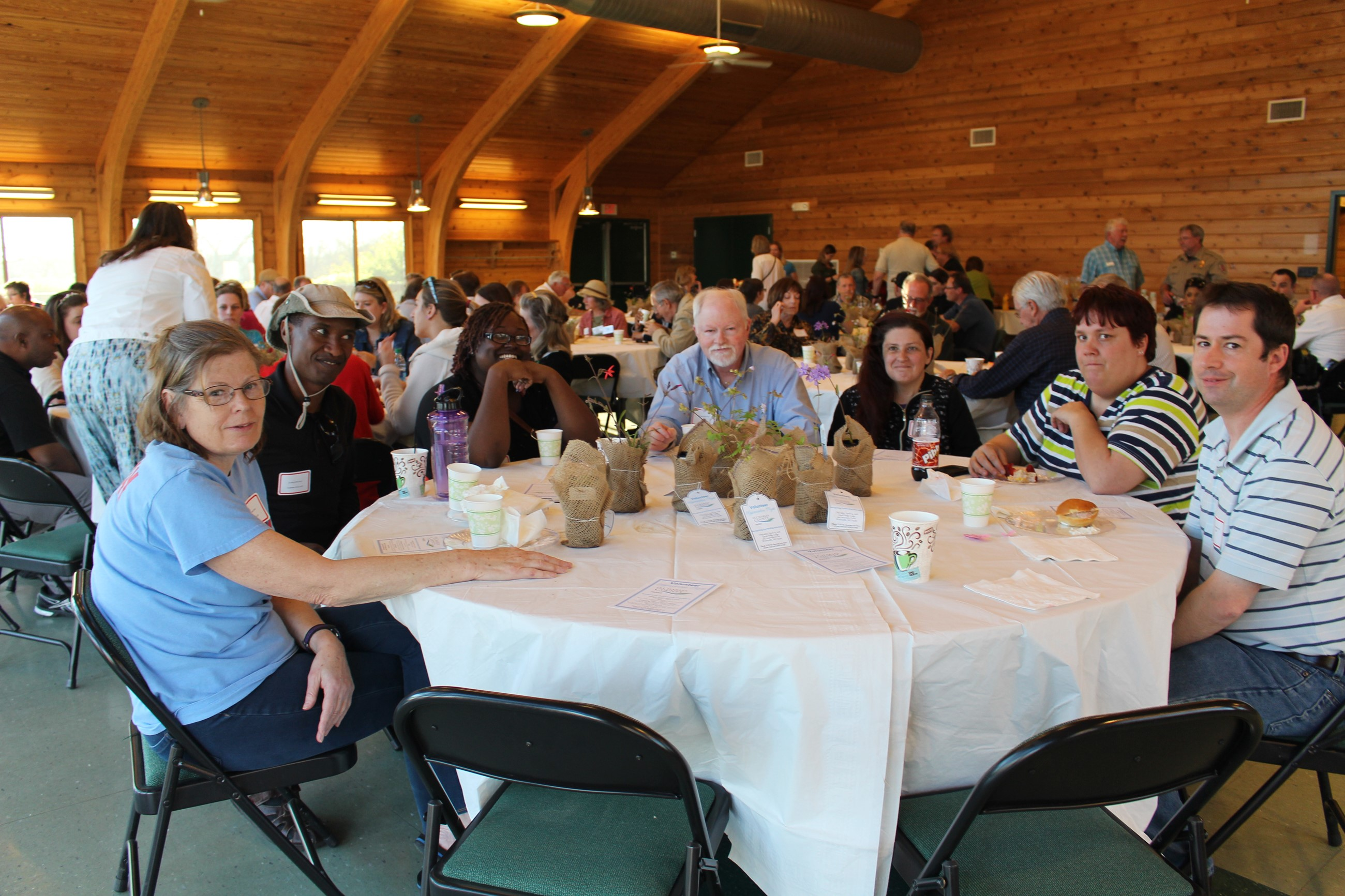 2016 Parks Volunteer Appreciation Night