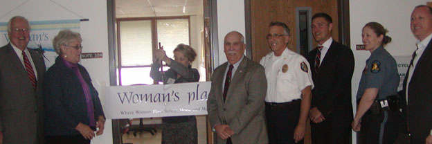 Woman's Place ribbon cutting ceremony