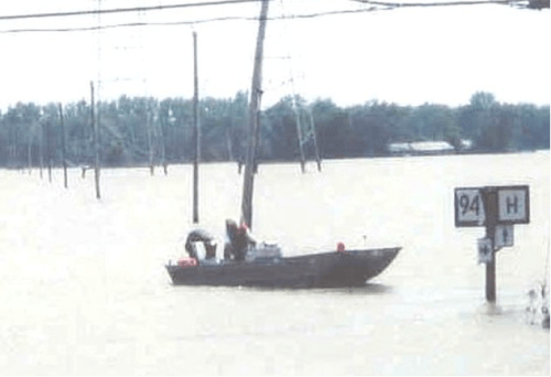 Volunteers Operating Division Boats